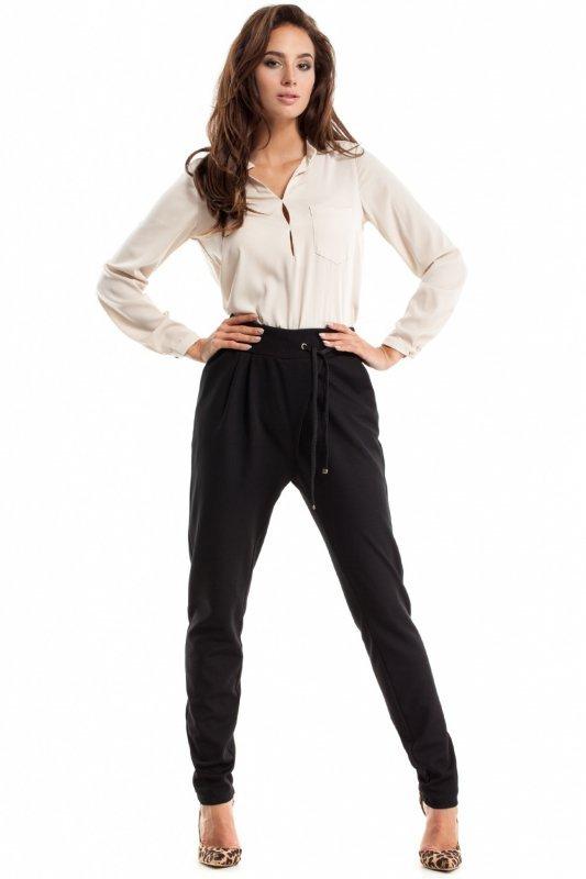 Spodnie-Damskie-Model-MOE256-Black-2
