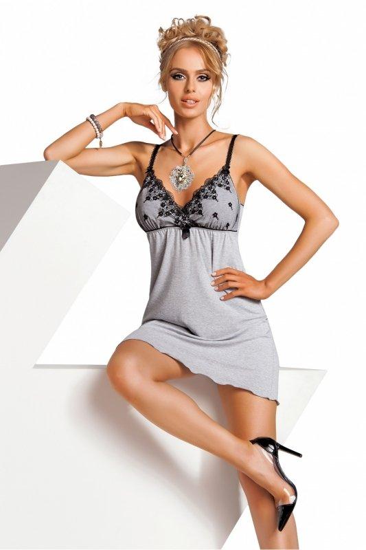 Koszula Nocna Model Monika Grey