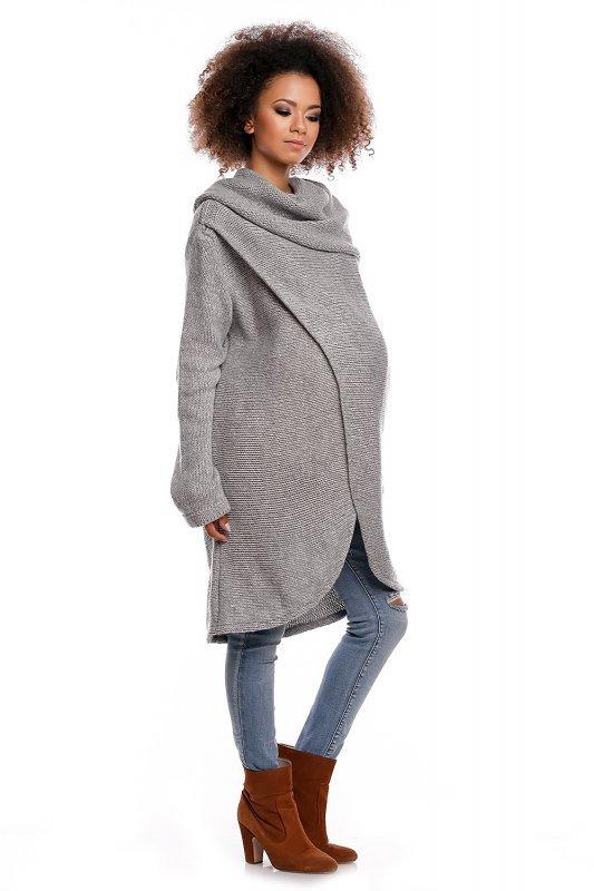 Sweter model 30051C Light Gray