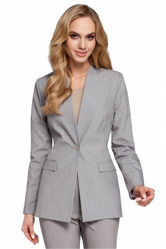 Żakiet damski S-XXL do biura Grey