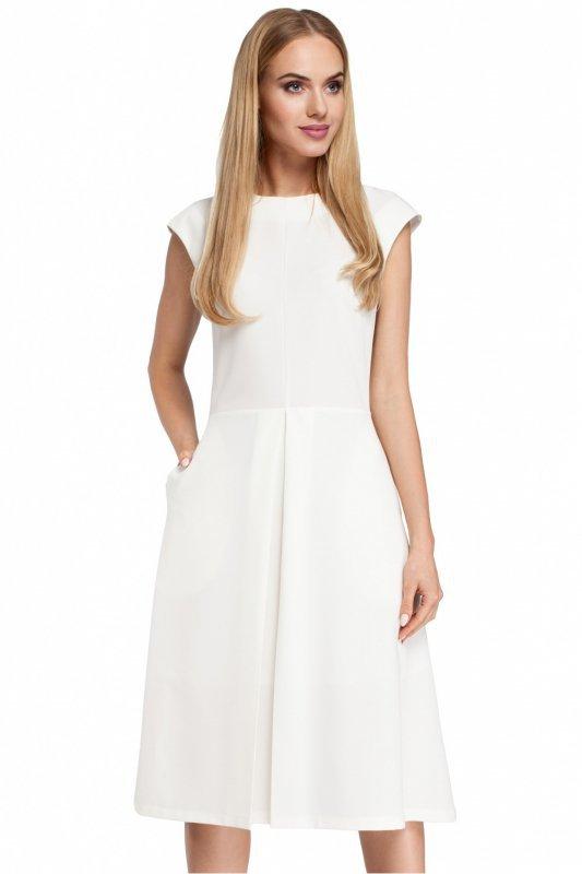 Sukienka Model MOE296 Ecru