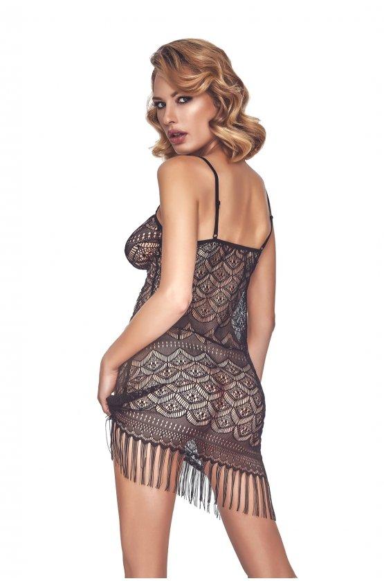 Koszulka damska erotyczna PHYSIS czarna