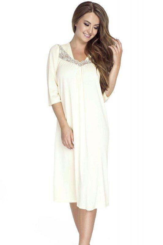 Koszula-Nocna-damska-Model-4133-Cream