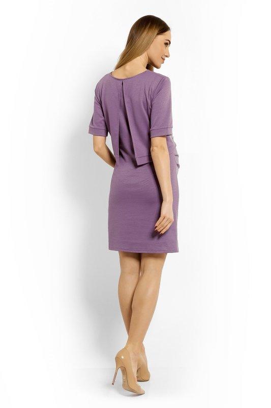Sukienka Ciążowa Model 1623C Violet