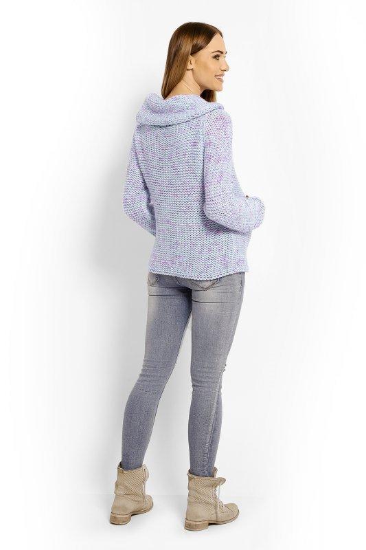 Sweter Ciążowy Model 60001C Sky Blue