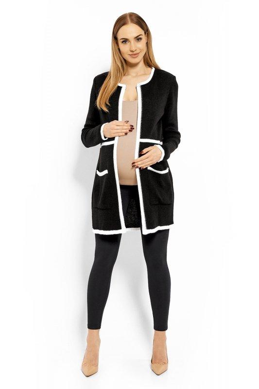 Sweter Ciążowy Model 40004C Black