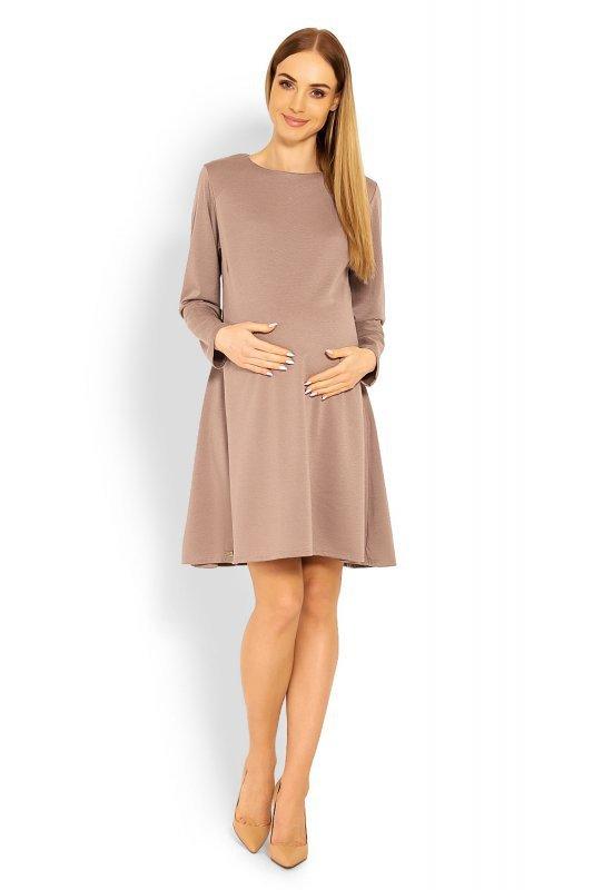 fb249b8764 Sukienka Ciążowa Model 1359C Cappuccino - Odzież ciążowa - Odzież ...