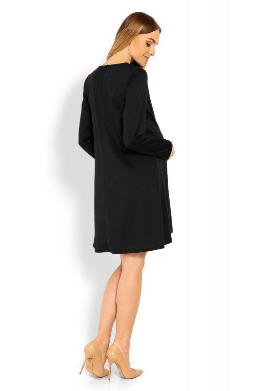 Sukienka Ciążowa Model 1359C Black