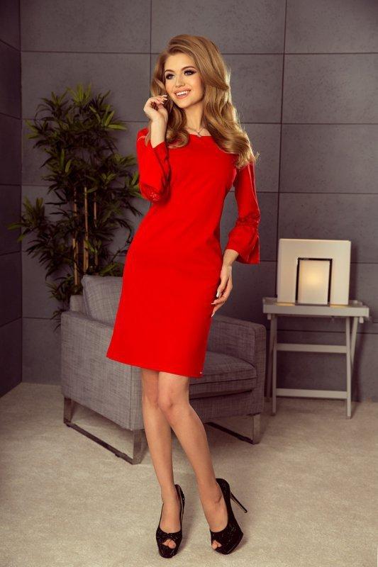 Sukienka-Model-190-3-Margaret-Red-na-wesele-chrzest-xl