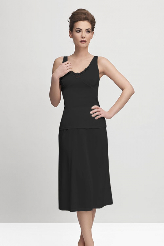 Halka damska plus size 40-58 Model 4141 Black