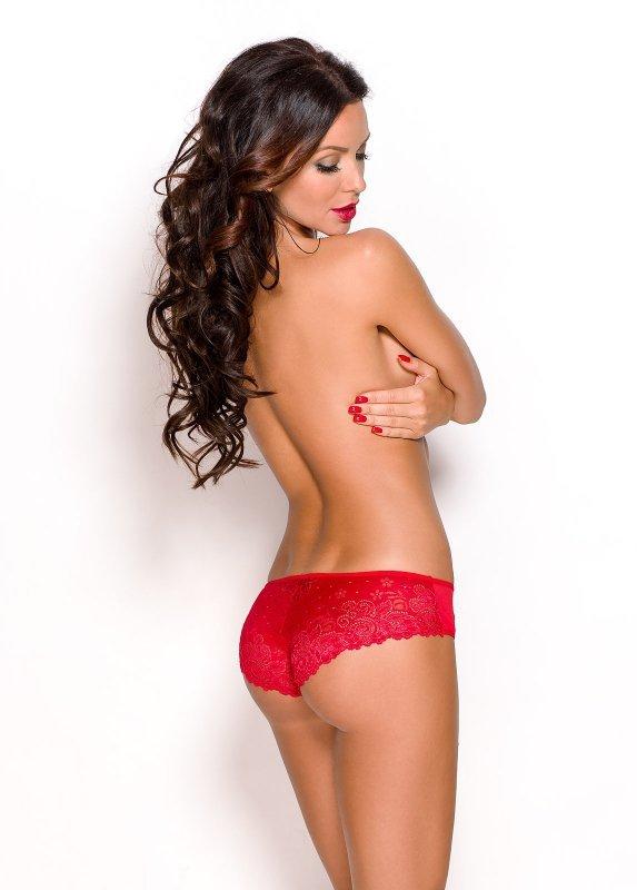 Figi damskie M-XXXL RED Anais APRILLA