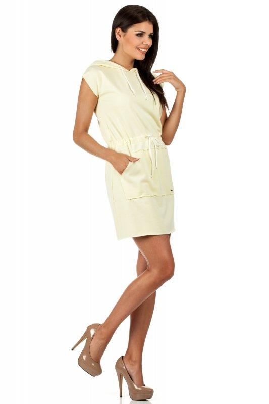 Sukienka Model MOE101 Yellow