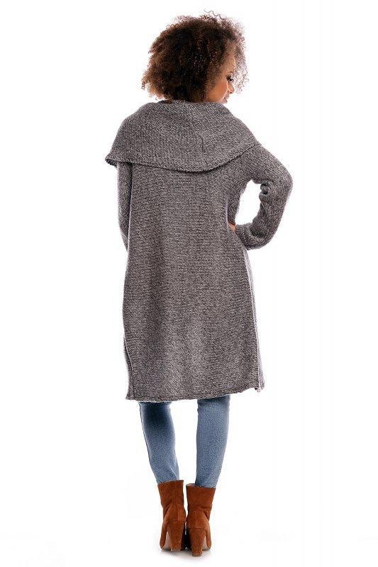 Sweter model 30051 Dark Gray