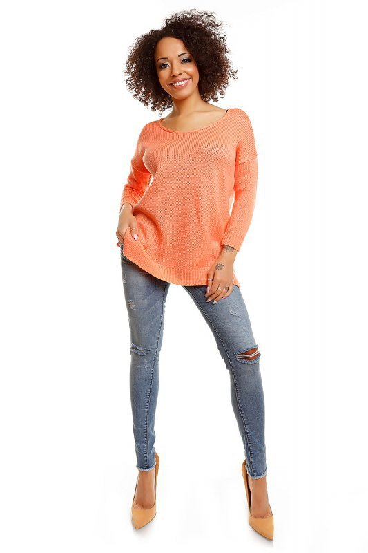 Sweter model 30045 Apricot