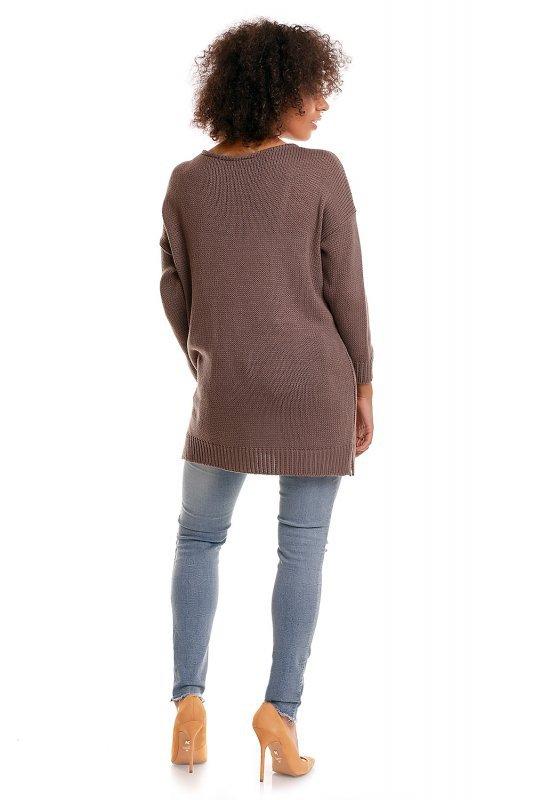 Sweter model 30045C Cappuccino