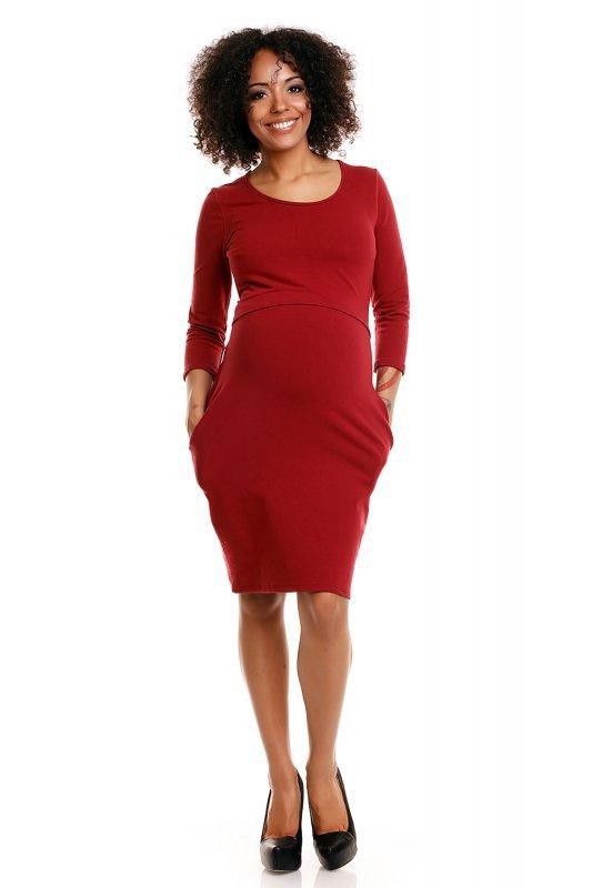 Sukienka model 1445 Crimson