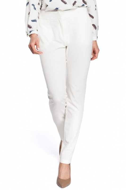 Spodnie-damskie-Model-MOE303-Ecru