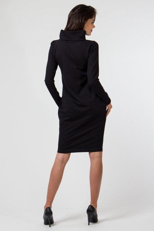 Sukienka dzianinowa K-040 Black