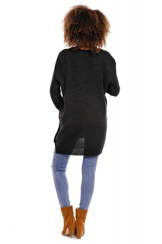 Sweter model 70007C Graphit