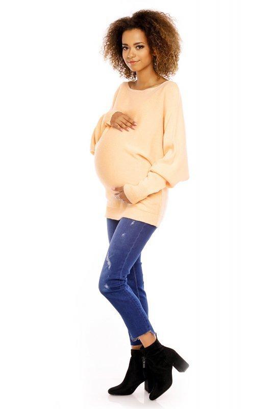 Sweter damski ciążowy 70003C Apricot