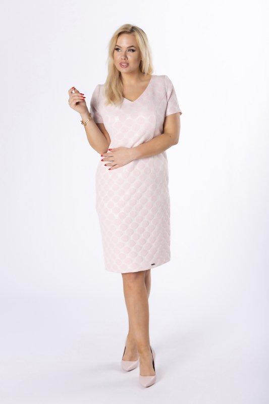 Sukienka MARLA grochy