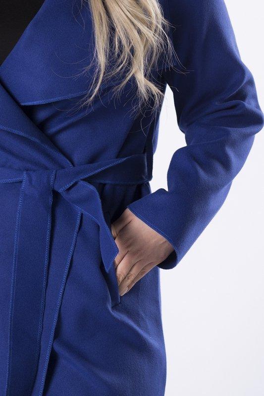 Płaszcz szlafrokowy FELICJA z wiązaniem