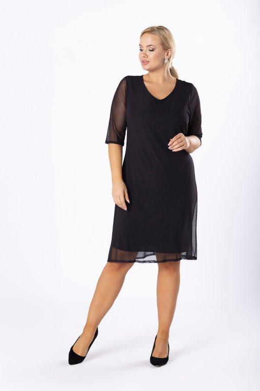 Elegancka sukienka RAFIA tiulowa