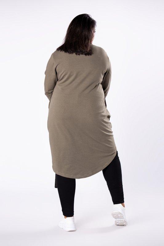 Dresowa tunika IZEE asymetryczna