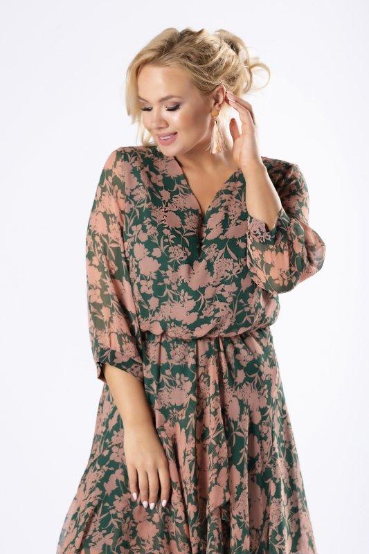 Sukienka tiulowa CRISTAL zwiewna