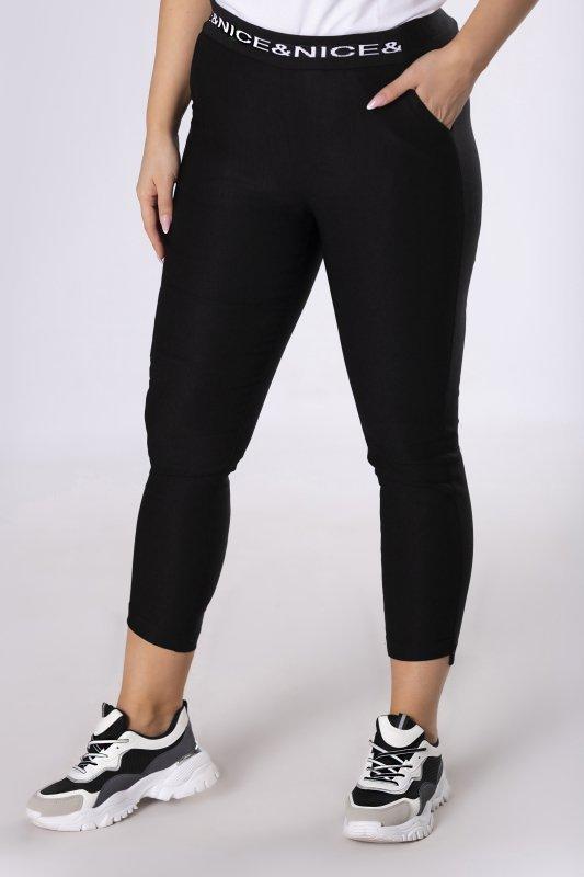 Spodnie BOSS ze ściągaczem