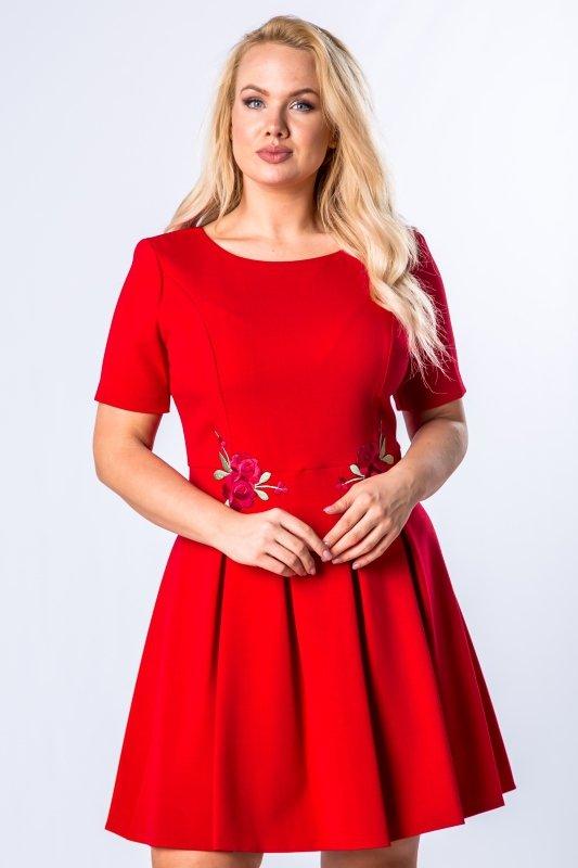Sukienka IWA rozkloszowana