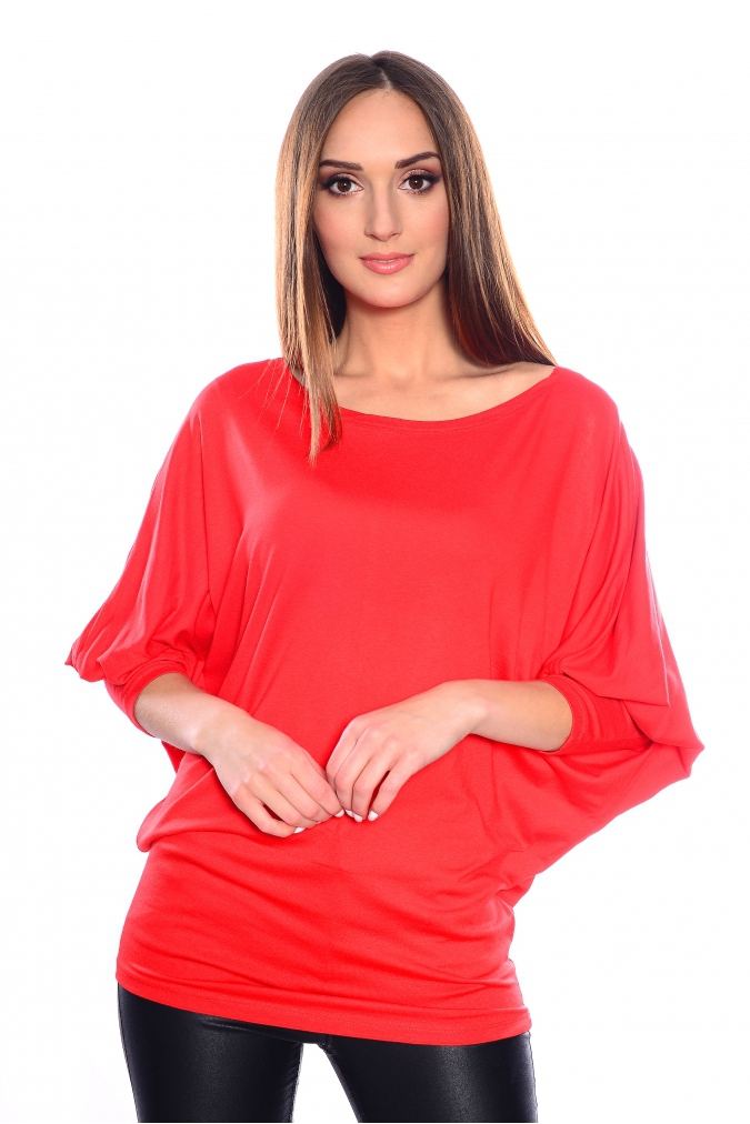 Tunika-damska-xl-xxl-PLUS-SIZE-IWONA-nietoperz-czerwone-KOLORY-modna-bluzka