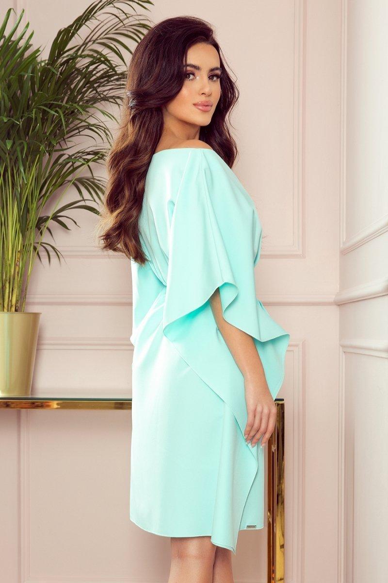 Sukienka plus size SOFIA8 musztardowa