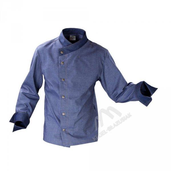 Bluza kucharska niebieska -jeans