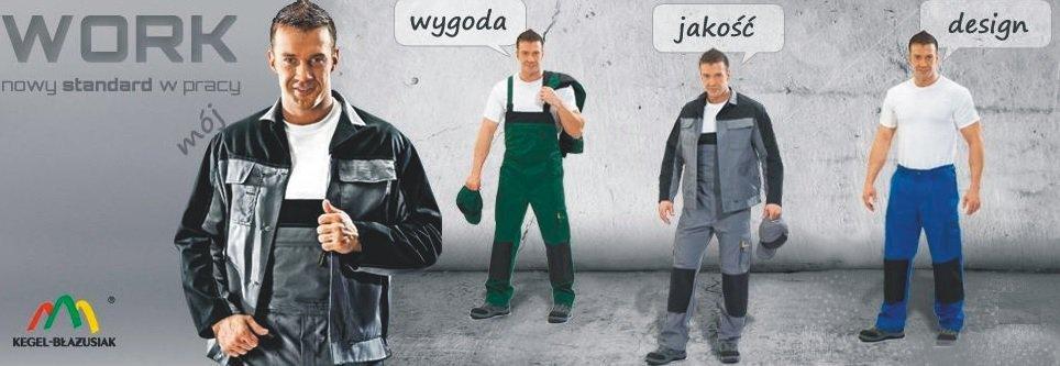 Renomowany Sklep wyrobów Kegel Błażusiak - Pokrowce, odzież BHP