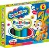 Plastelina BAMBINO 6 kolorów (01727)