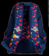 Plecak szkolny młodzieżowy ST.RIGHT w tęczowe ptaki, RAINBOW BIRDS BP7 (22496)