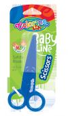 Nożyczki plastikowe 12,5 cm COLORINO (92562PTR)