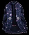 Plecak wczesnoszkolny ST.RIGHT w Emoji Pink EMOTIKONY BP26 (07419)