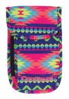 Portfel saszetka na szyję COOLPACK TOURIST w kolorowe zygzaki, BOHO ELECTRA 790 (74346)