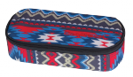 Piórnik szkolny COOLPACK CAMPUS w kolorowe wzory, BOHO BEIGE 805 (74902)