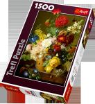 TREFL Puzzle 1500 el. Martwa natura z kwiatami (26120)