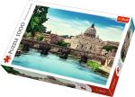 TREFL Puzzle 1000 el. Most Świętego Anioła (10449)