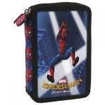 Piórnik z wyposażeniem, dwukomorowy Spider-man Homecoming (PWDSH10)