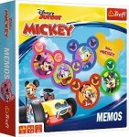 TREFL Gra pamięciowa MEMOS Myszka Mickey i Raźni Rajdowcy (01601)