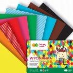 Papier kolorowy wycinanka A4 HAPPY COLOR (39508)