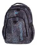 Plecak CoolPack STRIKE czarno - biały, MONOCHROMATIC 827 (75510)