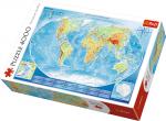 TREFL Puzzle 4000 el. Wielka mapa fizyczna świata (45007)