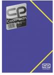 Teczka na dokumenty A4 COOLPACK NIEBIESKA NEON (52122)