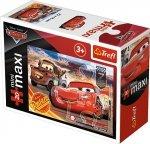 TREFL Puzzle miniMaxi 20 el. Cars Auta 3 ZYGZAK I ZŁOMEK (21044)